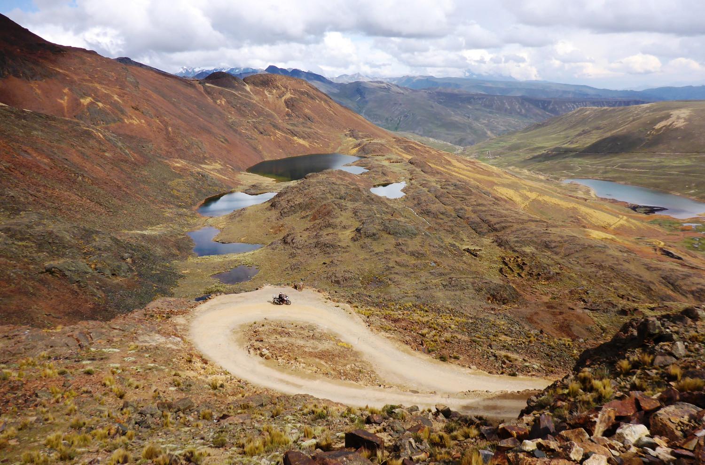 Dünne Luft: bolivianische Gebirgslandschaft | Thin air: Bolivian mountain landscape