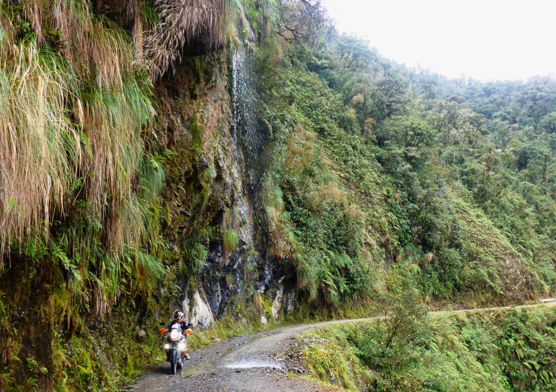 Unterm Wasserfall   Under a waterfall