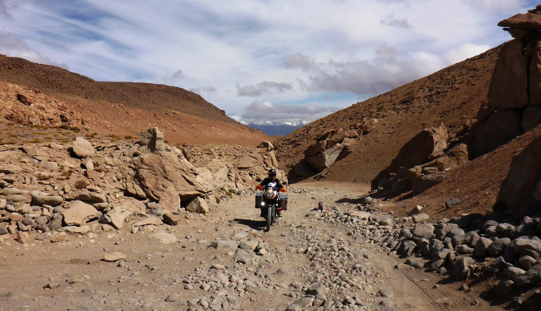 Offroad für Fortgeschrittene: Nationalpark Eduardo Avaroa   Offroad for advanced riders: Eduardo Avaroa National Park