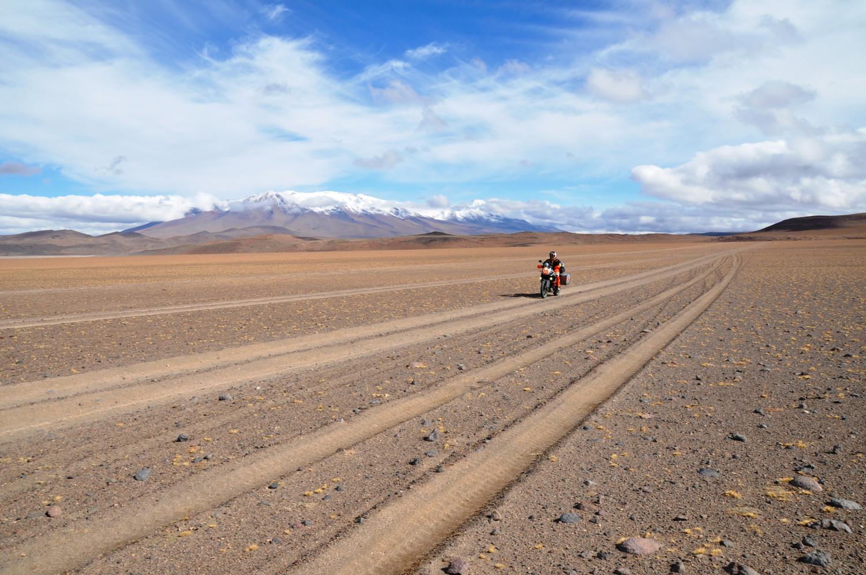 350 Kilometer und kein Meter Asphalt   350 kilometers and not a single meter of asphalt in sight