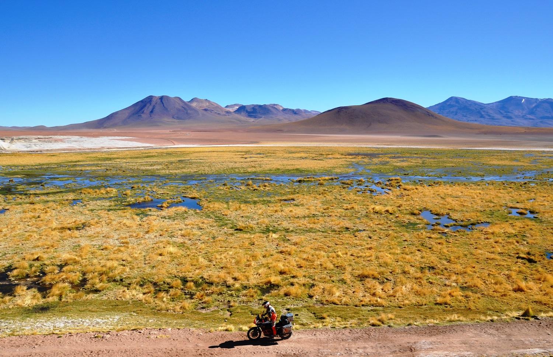Vulkanlandschaft unweit von San Pedro de Atacama | Volcanic landscape near San Pedro de Atacama