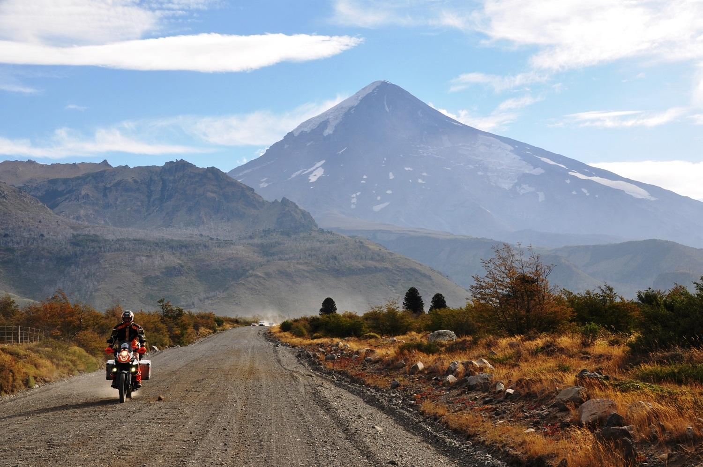 Am Fuße des Vulkans Lanín | At the foot of the Lanín volcano