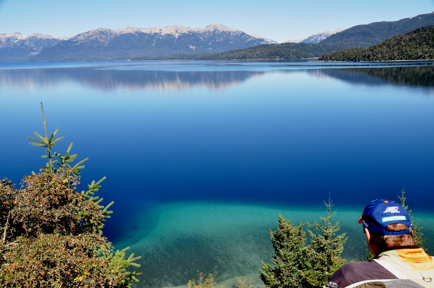 Einer der sieben Seen: Lago Nahuel Huapi in Argentinien | One of the seven lakes: Lago Nahuel Huapi in Argentina