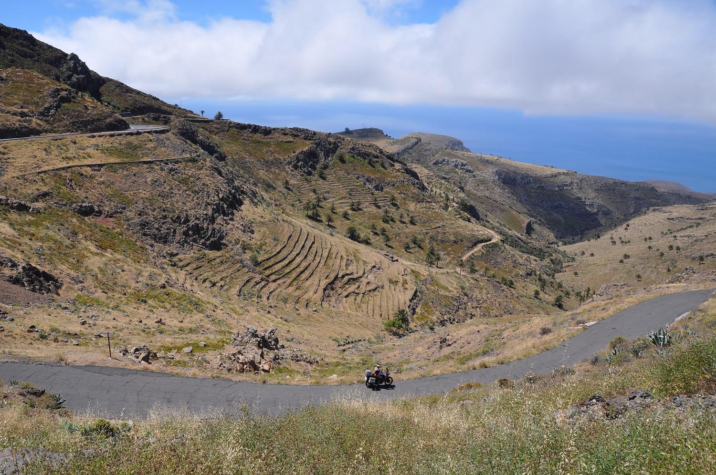 La Gomera: die trockene Südküste   La Gomera: the dry south coast