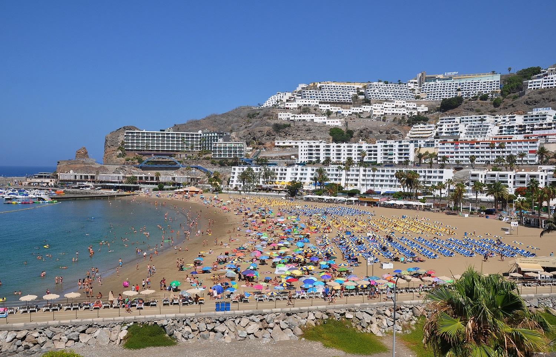 Die touristische Seite Gran Canarias   The touristy side of Gran Canaria
