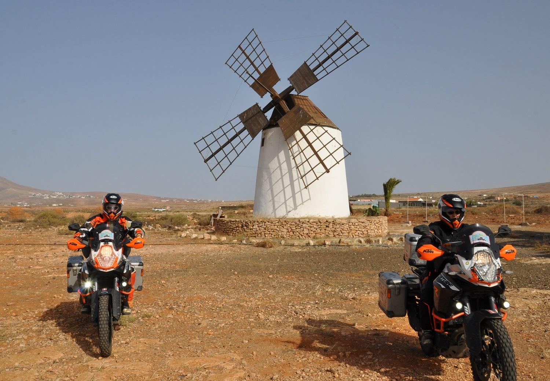 Eine von vielen Windmühlen auf Fuerteventura | One of many windmills on Fuerteventura