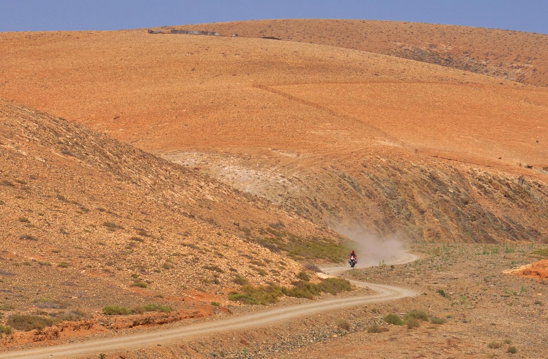 Fuerteventura: purer Fahrspaß in orange | Fuerteventura pure riding fun in orange