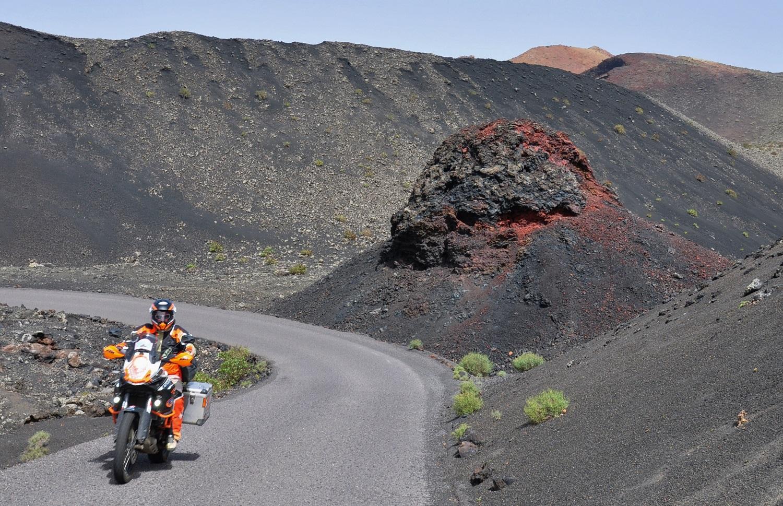 Lanzarote: Fahrspaß in schwarz | Lanzarote: riding pleasure in black