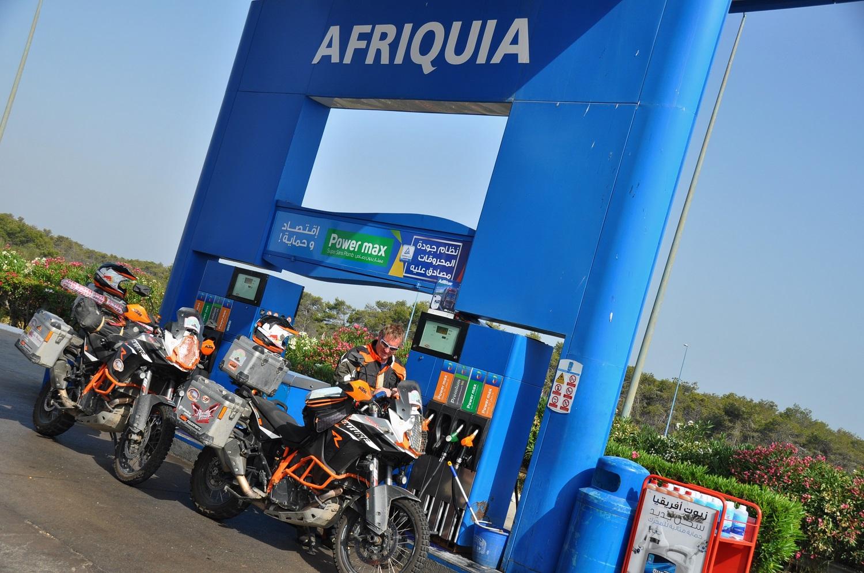 Afriquia-nische Tankstelle | Afriquia-n gas station
