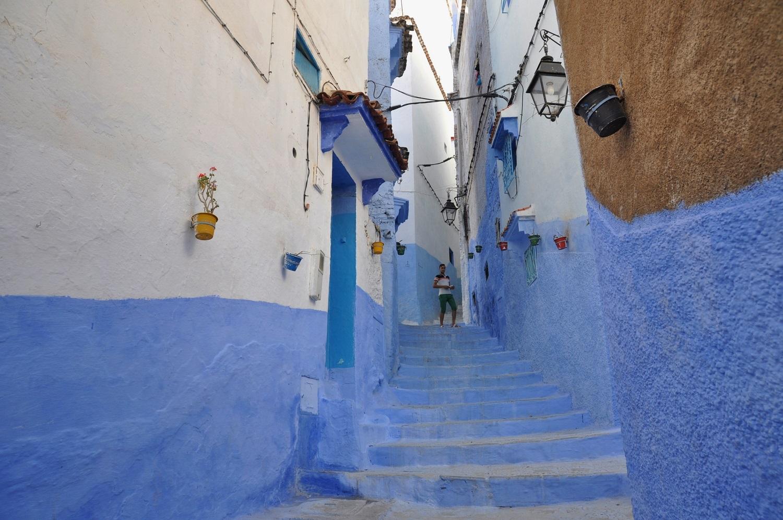 "Chefchaouen, die ""blaue Stadt"" | Chefchaouen, the ""Blue City"""