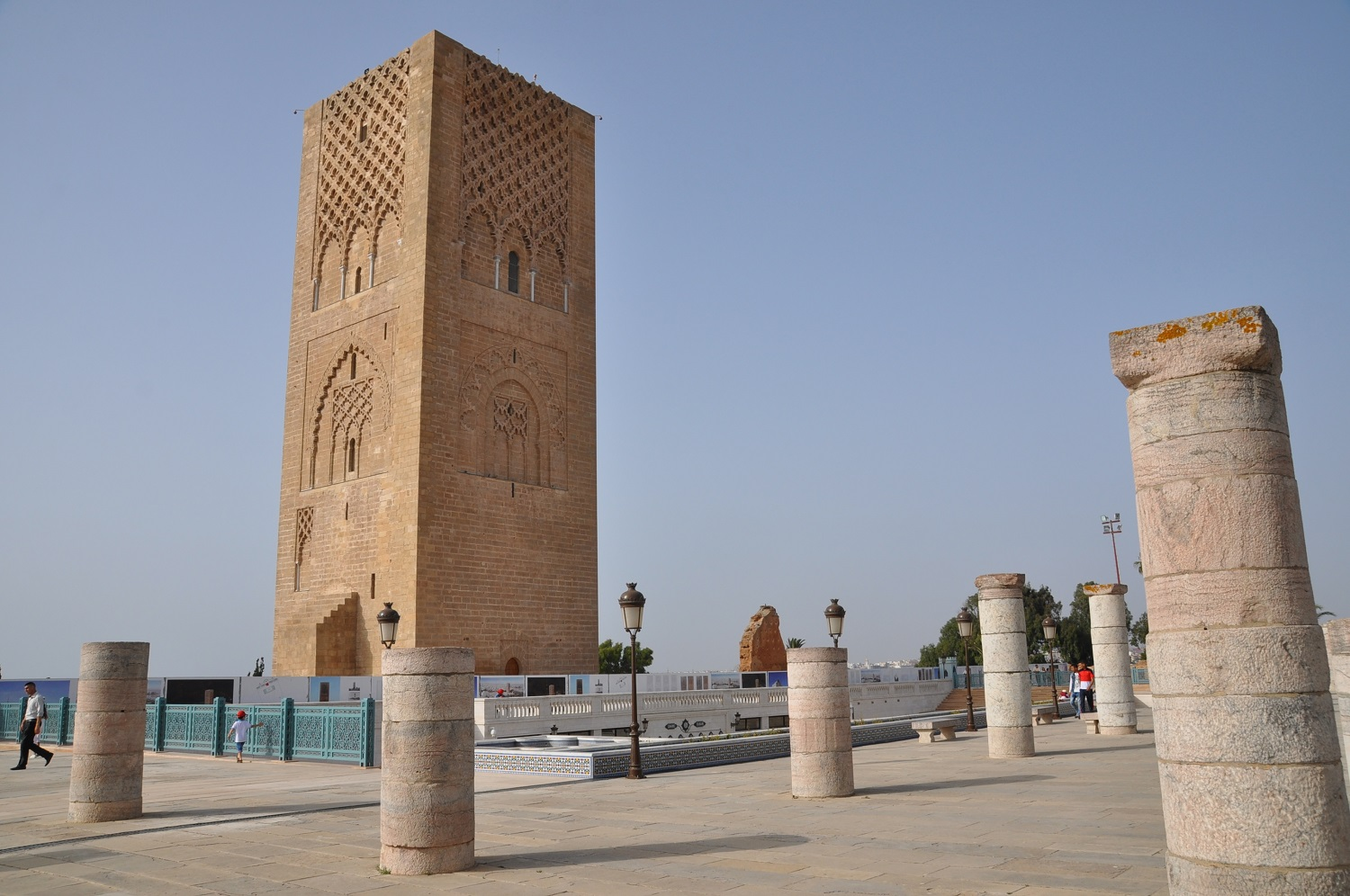 Hassan-Turm in der Hauptstadt Rabat | Hassan Tower in the capital city of Rabat