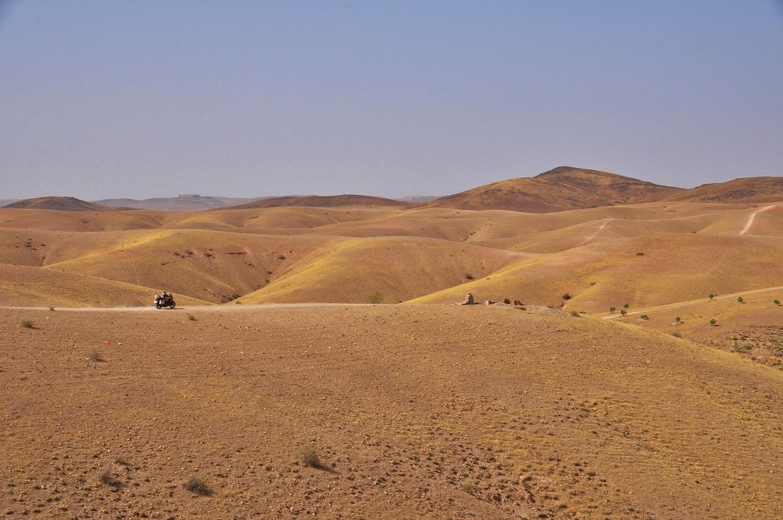 Die Ausläufer des Atlas-Gebirges im Norden   The foothills of the Atlas Mountains in the north
