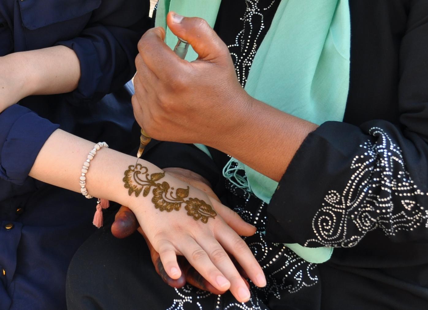 Henna-Tattoo | Henna tattoo