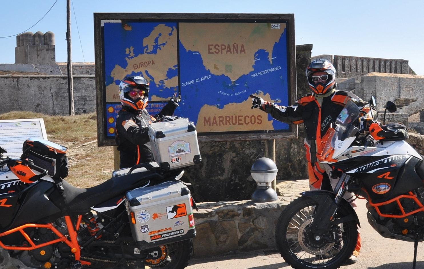 Von Marokko ist´s nicht weit auf das europäische Festland | It's not far from Morocco to the European mainland