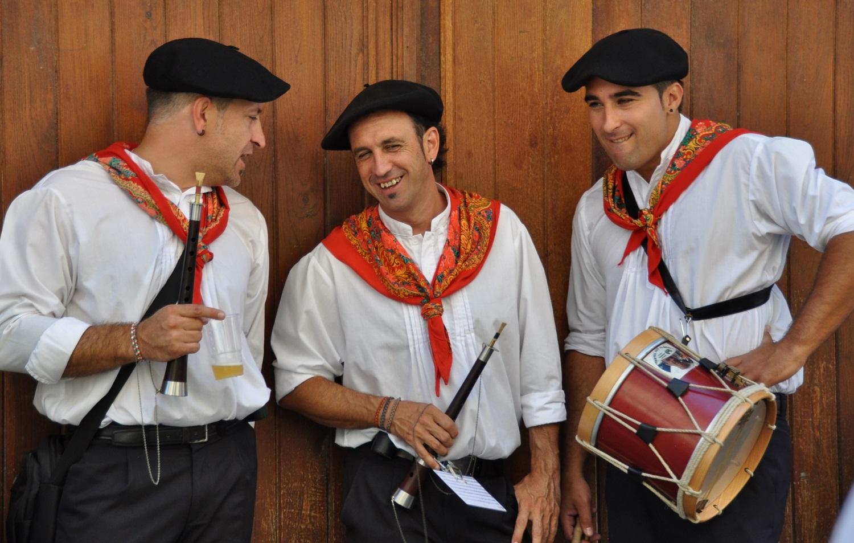 Musikanten in Navarra | Musicians in Navarra