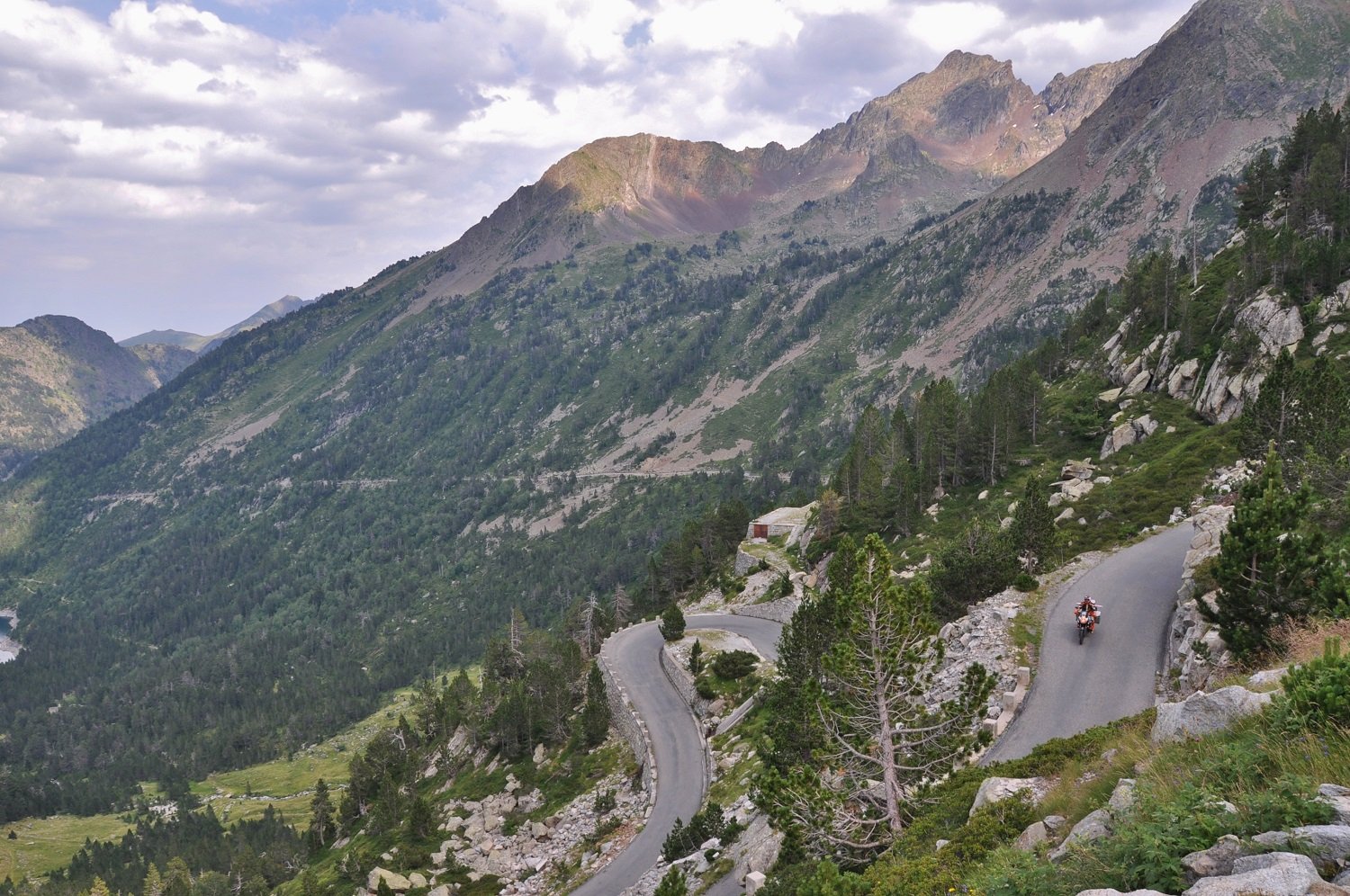 Pyrenäen-Crossing … hin … | Crossing the Pyrenees … there …