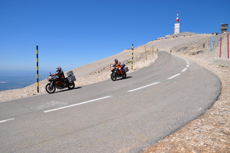 Abfahrt vom Tour-Klassiker Mont Ventoux | Descending the Tour de France classic Mont Ventoux