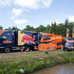 Packing and dragging the show: What's in the MXGP race truck?