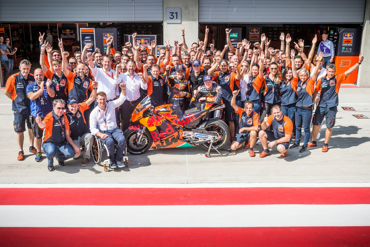 Red Bull KTM Factory Racing Team Red Bull Ring (AUT) 2017