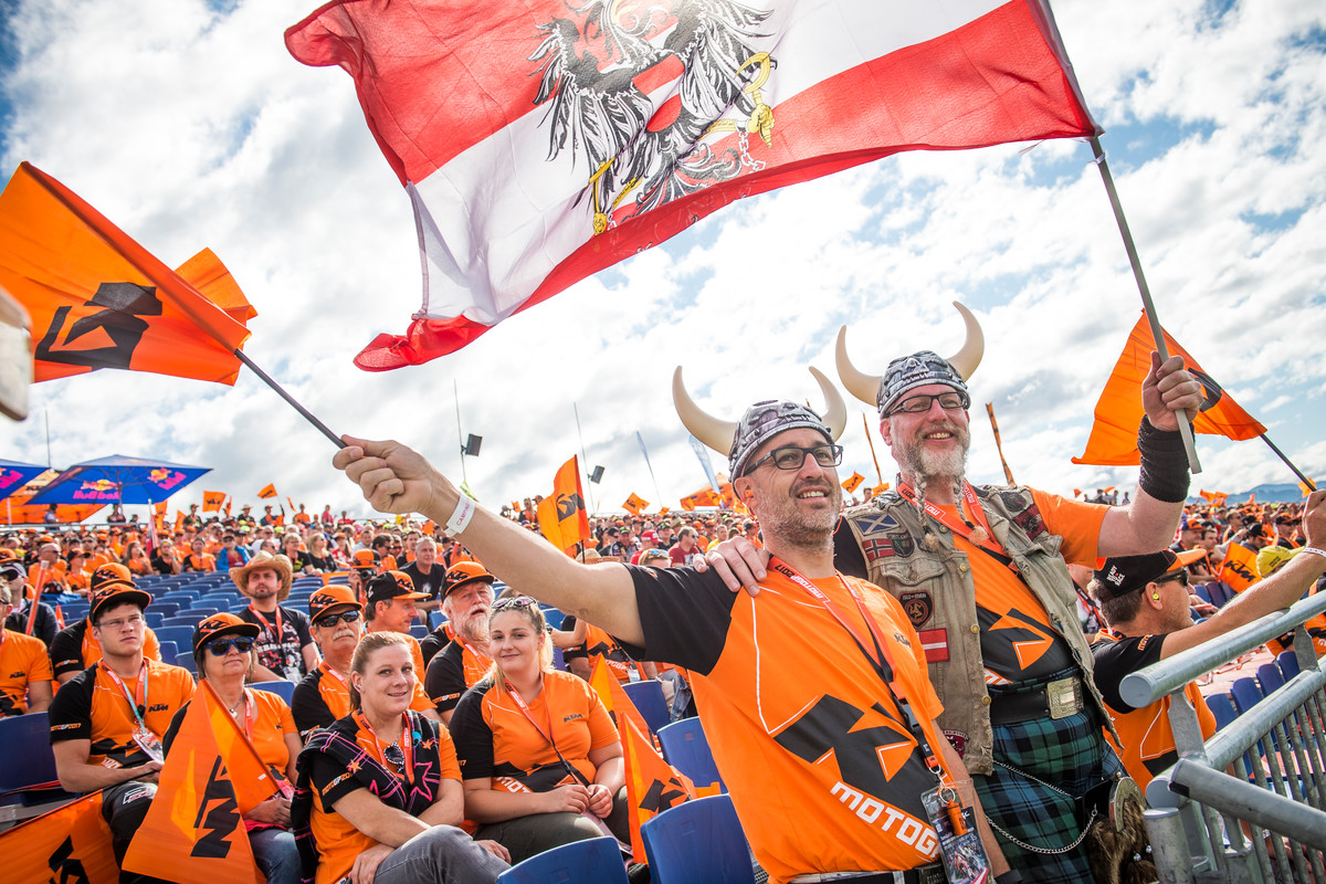 KTM Fans Red Bull Ring (AUT) 2017