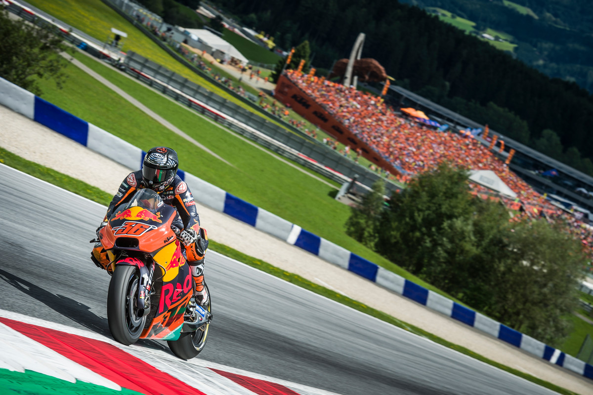 Mika Kallio (FIN) KTM RC16 Red Bull Ring (AUT) 2017