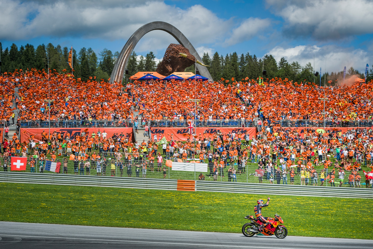 KTM Grand Stand Red Bull Ring (AUT) 2017