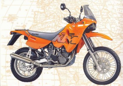 #inthisyear1997: KTM presents the first LC4-ADVENTURE