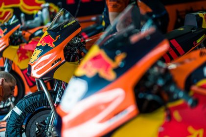 Interview of the Month: Being Factory – Life inside KTM MotoGP™ for the stars