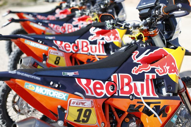 KTM is READY TO RACE Dakar 2018