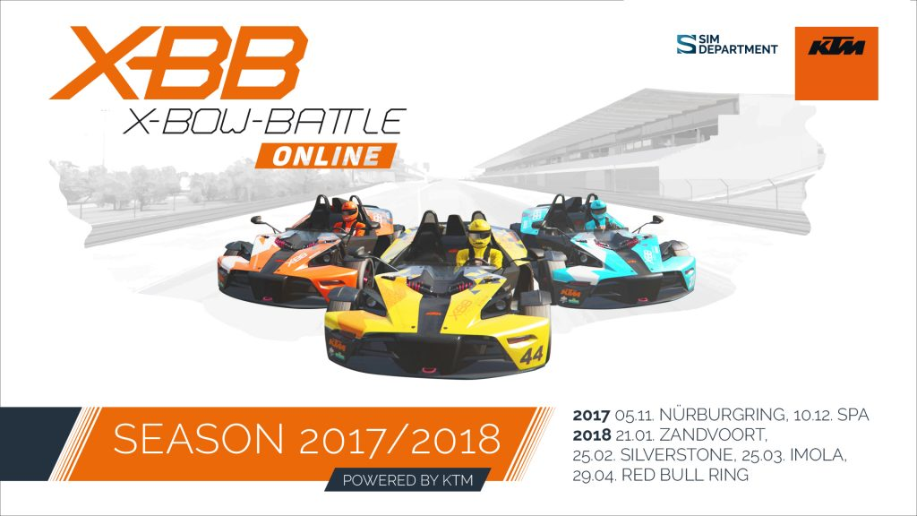 Sim Racing with the KTM X-BOW