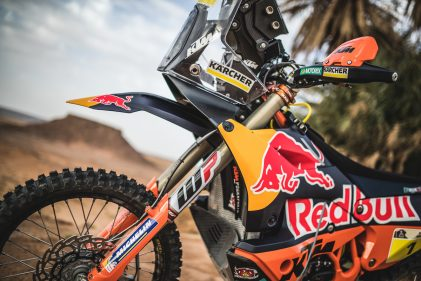 The KTM 450 RALLY – Unbeaten at the Dakar