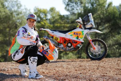 Interview of the Month: Laia Sanz – Dakar dreams and the challenges of the world's toughest Rally
