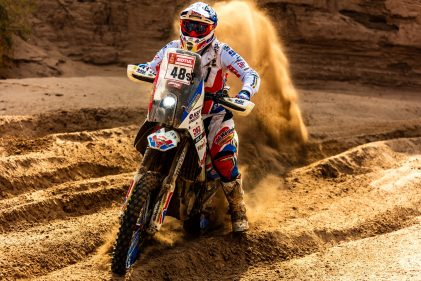 """His last road to Dakar #4: """"I'm glad to have been a part of this Rally Dakar"""""""
