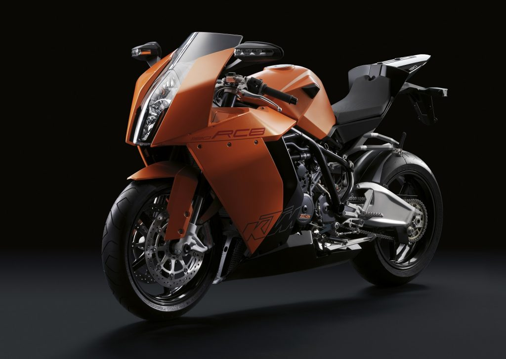 #inthisyear2008: Clear minimize – 10 years of the KTM 1190 RC8