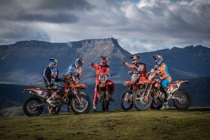 KTM is READY TO RACE WESS