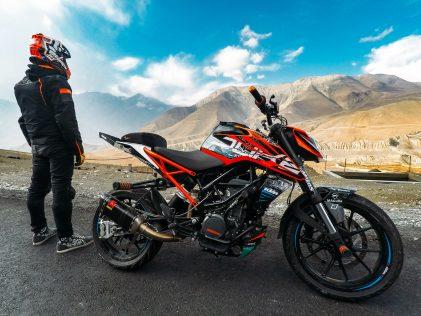 Rok Bagoroš: World record bit in the Himalayas