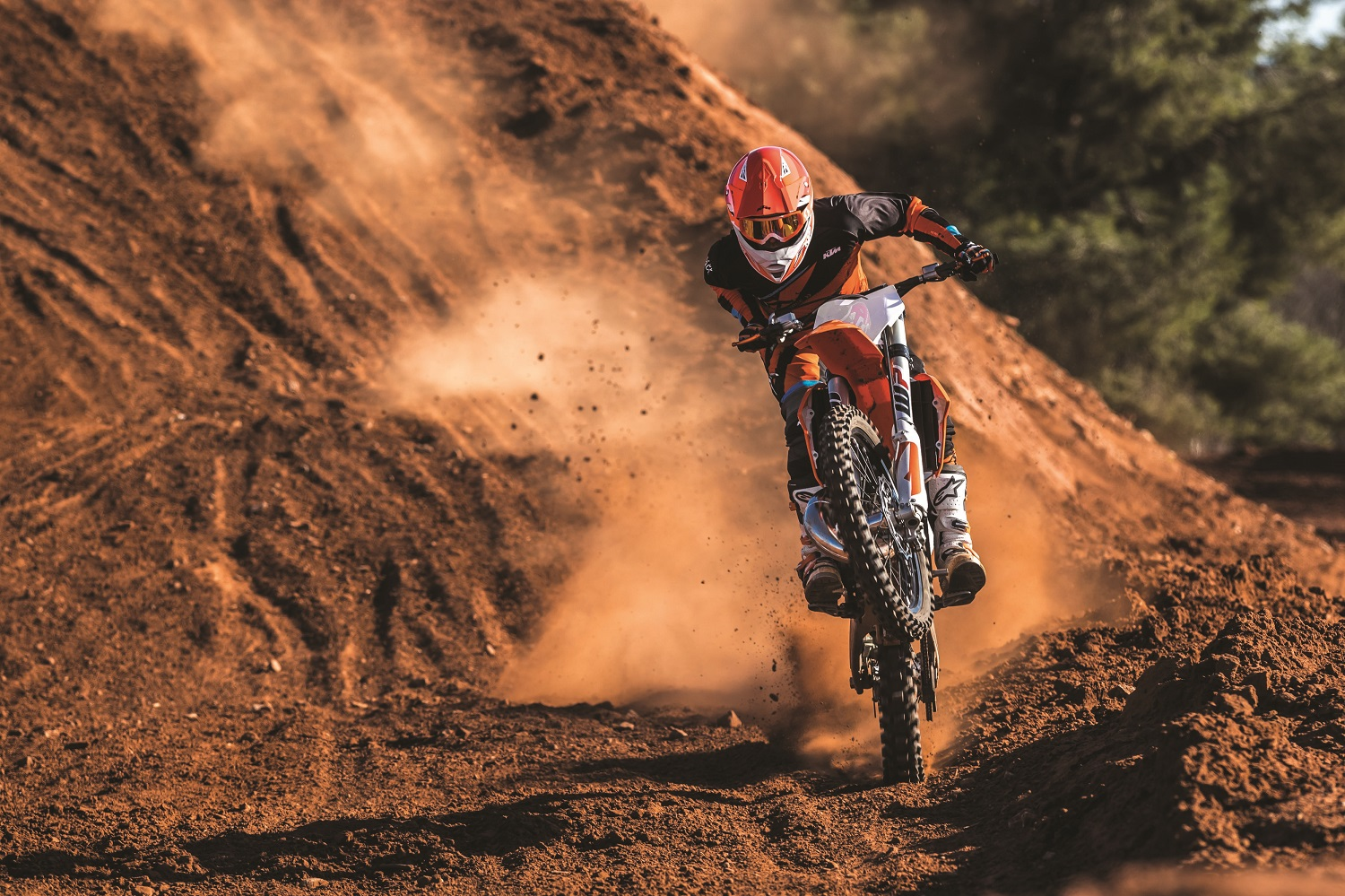 01_Action_KTM 150 SX MY2019