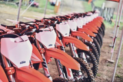 5 mins to talk the future of KTM motocross bikes
