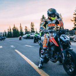 KTM 790 DUKE: A mountain to climb