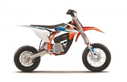 A Kid's game? Talking Junior SX bikes and the ground-breaking arrival of the KTM SX-E 5