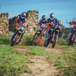 The KTM Factory Racing Team is prepared for Dakar