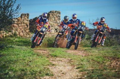 The KTM Factory Racing Team is prepared for Dakar
