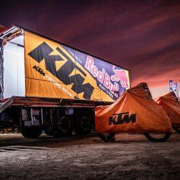 KTM Factory Racing: Vom ultimativen Begleit-LKW und der Logistik eines Rallye-Teams