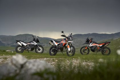 KTM 790 ADVENTURE: Which path to take?