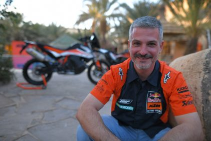 Chasing the white tiger: Jordi Viladoms talks us through the brand-new adventure of the KTM rally team