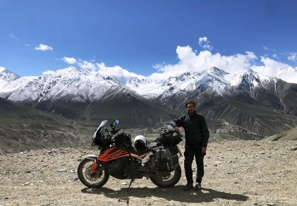 MADRID TO MONGOLIA ON A KTM 790 ADVENTURE