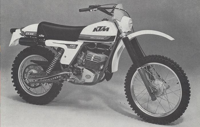 KTM 125 GS 80 (Vorserie 1978)