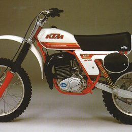 #inthisyear1979: 50,000th KTM 2-stroke engine
