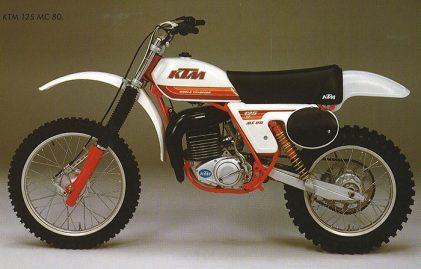 #inthisyear1979: 50,000th KTM 2-stroke engine