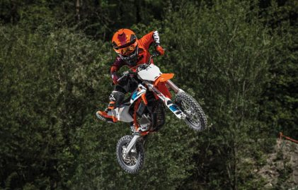 THE NEXT CHAPTER IN KTM´S E-MOBILITY STORY: INTRODUCING THE KTM SX-E 5